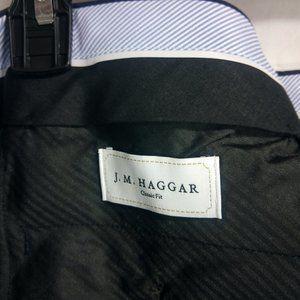 Haggar Pants - JM Haggar Classic Fit Men's Royal Blue Dress Pants